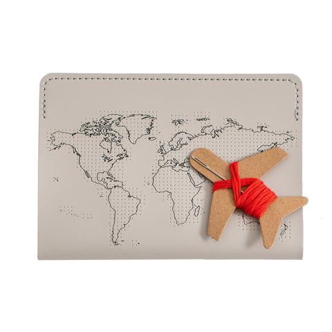Passport Cover Stitch Kit - Letterfolk