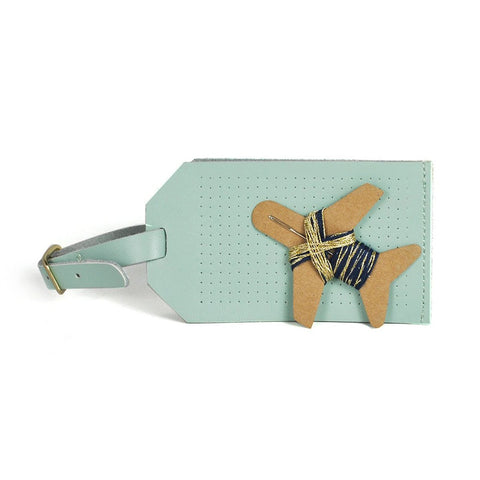 Luggage Tag Stitch Kit - Letterfolk