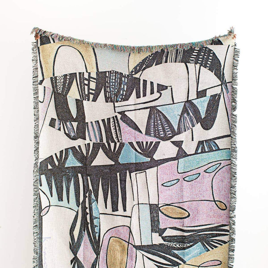Miro Throw Blanket - Letterfolk
