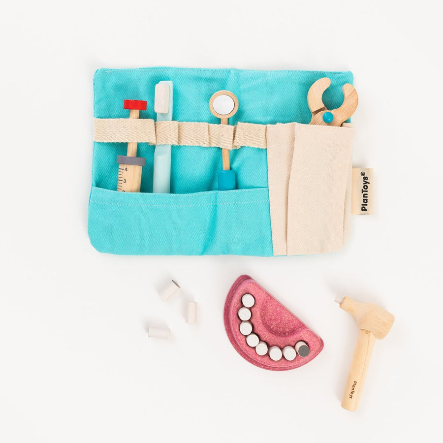 Wooden Dentist Set - Letterfolk