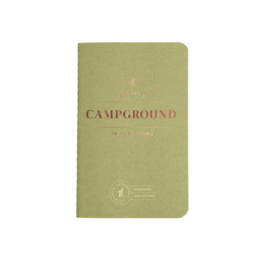 Campground Passport - Letterfolk