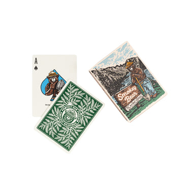 Smokey the Bear Playing Cards - Letterfolk