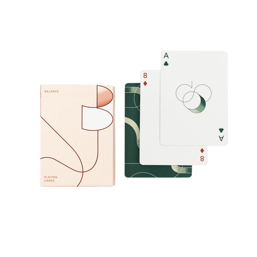 Balance Playing Cards - Letterfolk