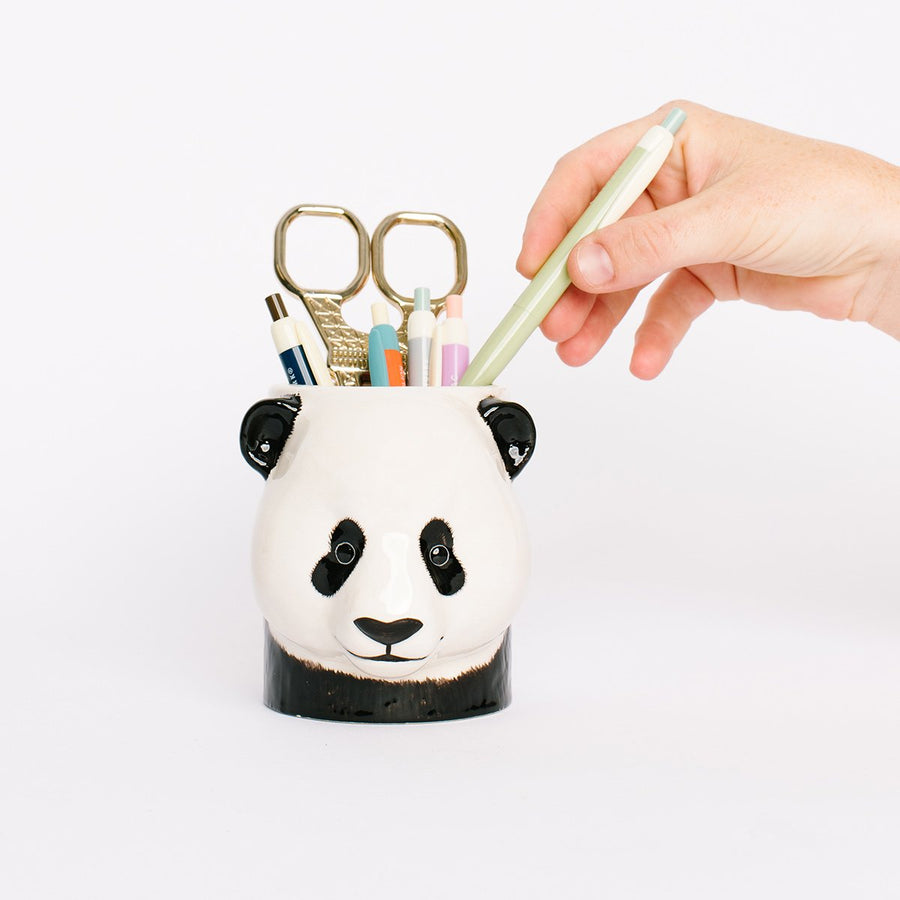 Ceramic Animal Pencil Pot - Letterfolk