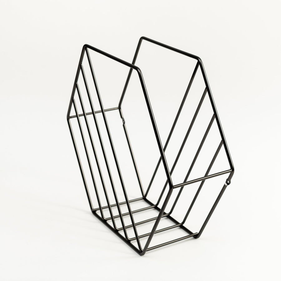 Hex Magazine Rack - Letterfolk