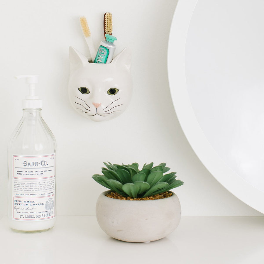 Ceramic Animal Wall Vase - Letterfolk