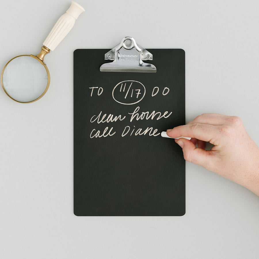 Small Chalk Clipboard - Letterfolk