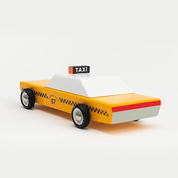 Wooden Taxi Cab - Letterfolk