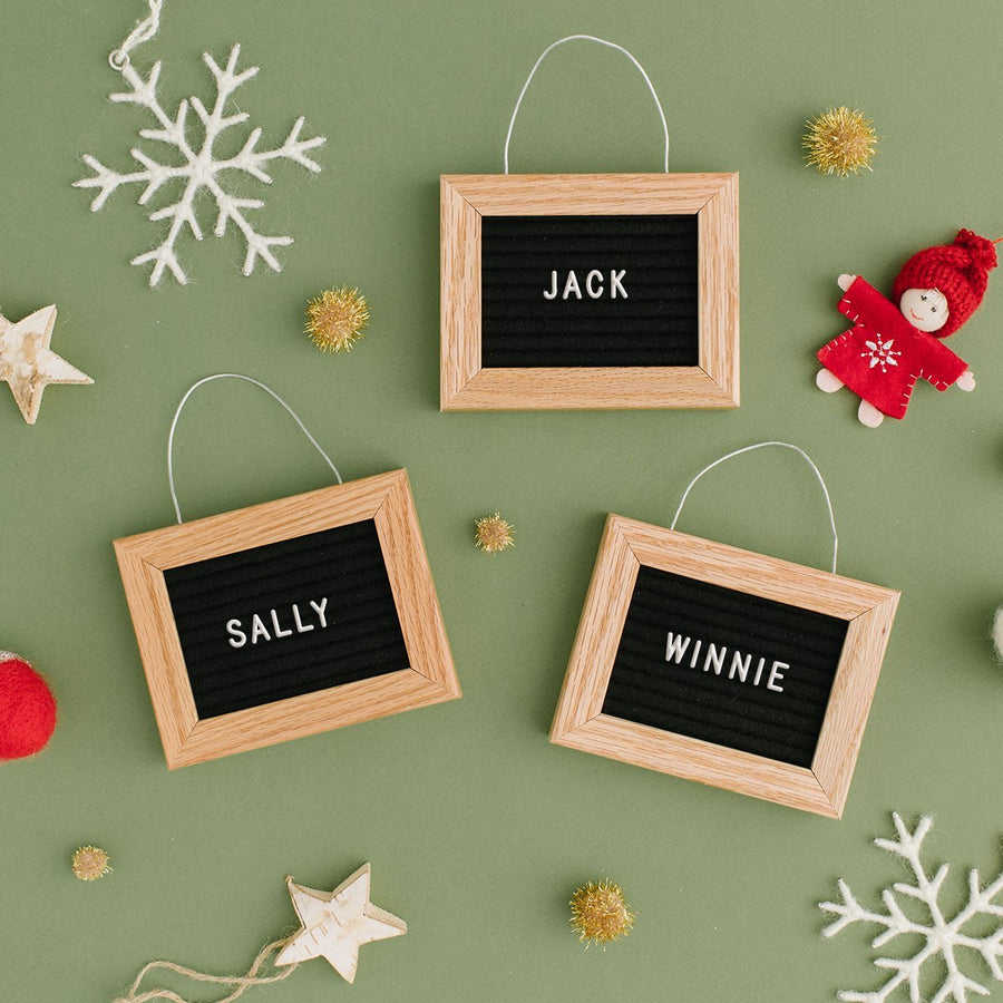 Letter Board Ornament (Warehouse Sale) - Letterfolk