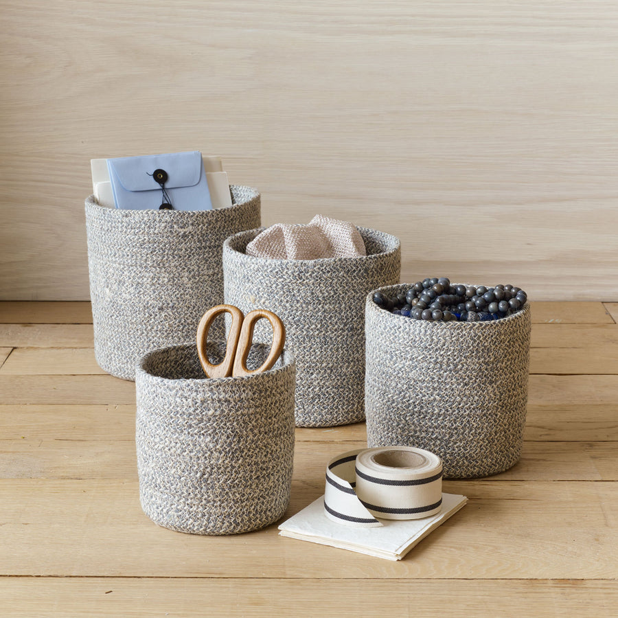 Jute Nesting Baskets - Letterfolk
