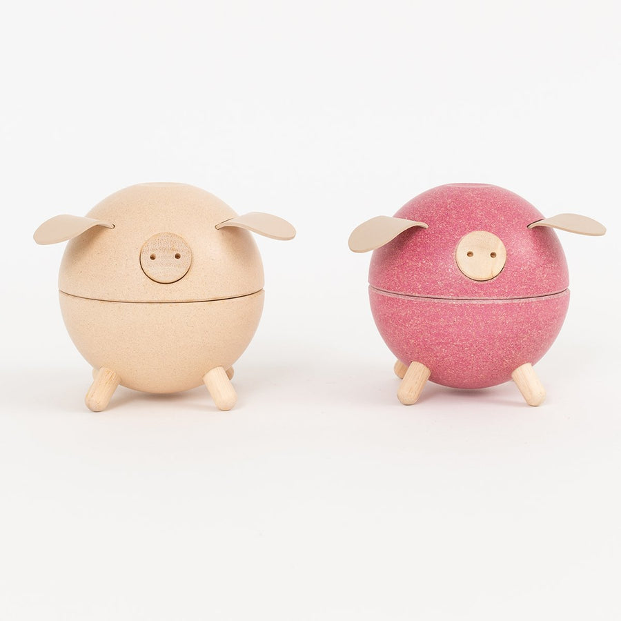 Wood Piggy Bank - Letterfolk