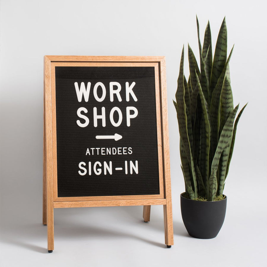 A-Frame Sign - Letterfolk