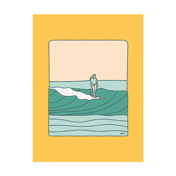 This That & the Other Surf Print - Letterfolk