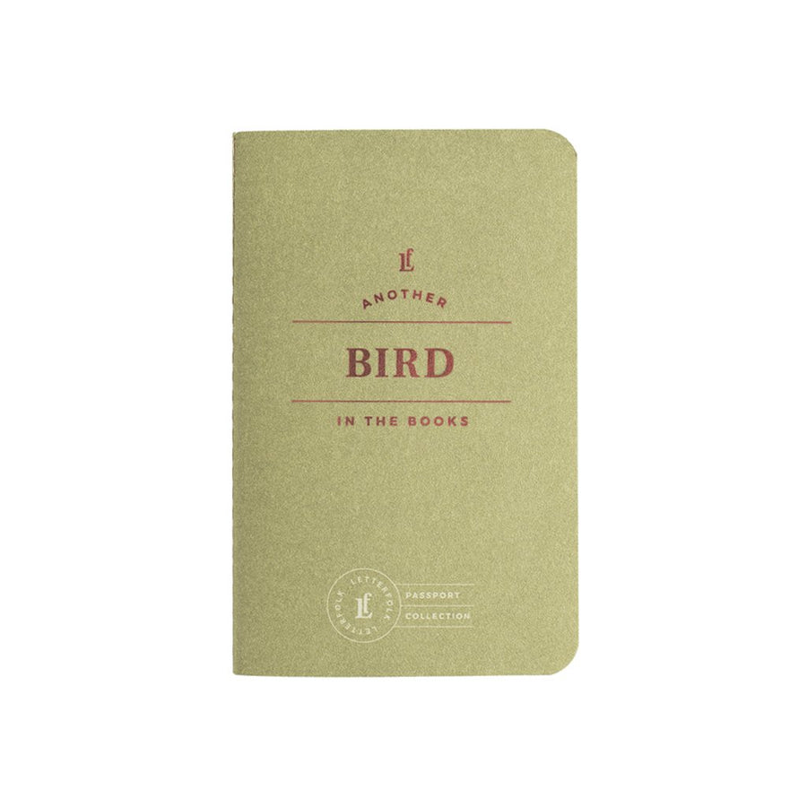 Bird Passport - Letterfolk
