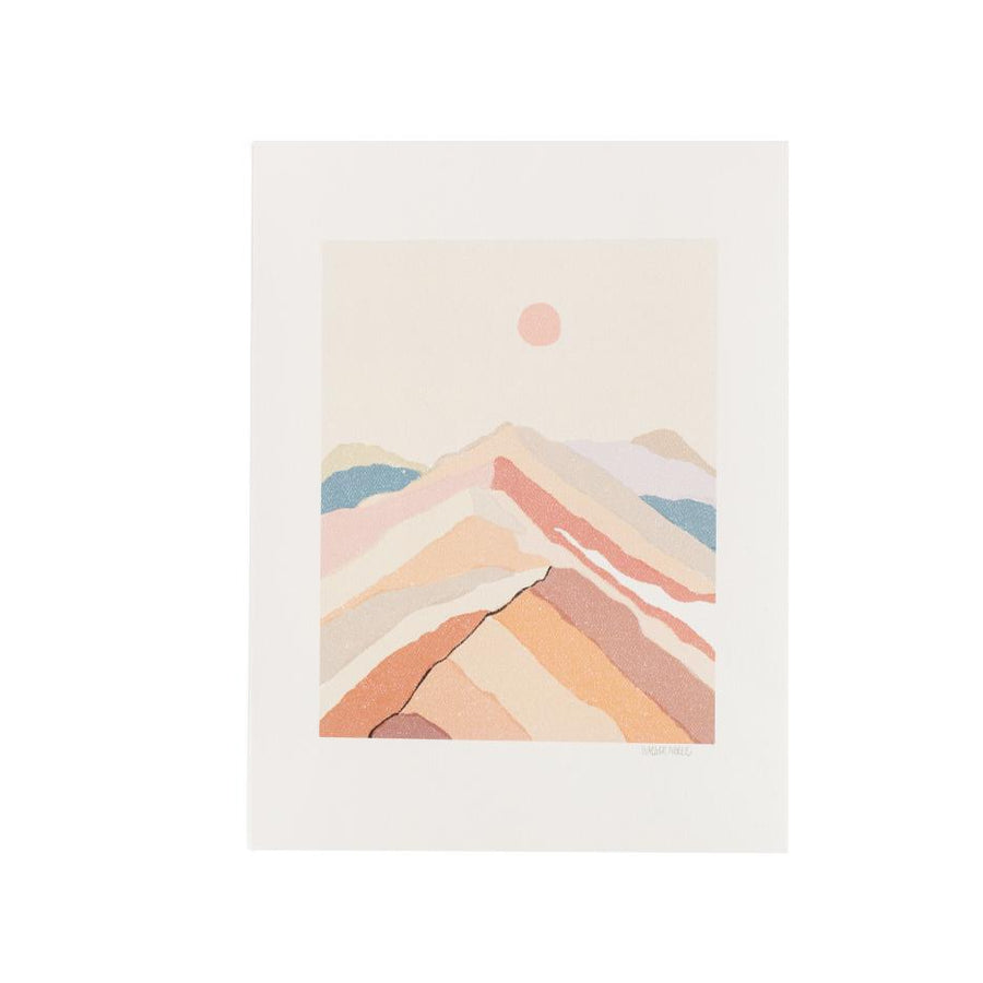 Mountain Dream Print - Letterfolk