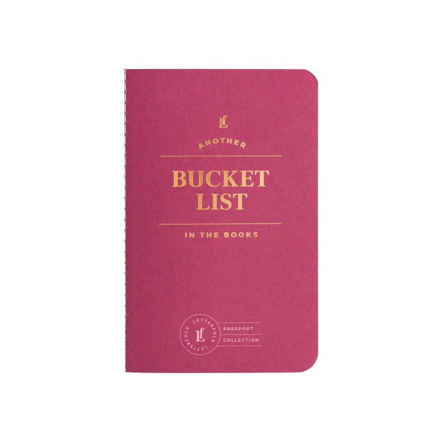 Bucket List Passport - Letterfolk