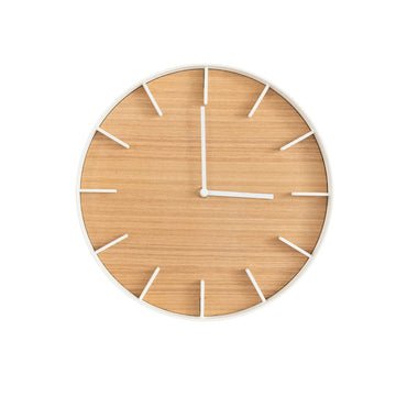 Elemental Wood Wall Clock - Letterfolk