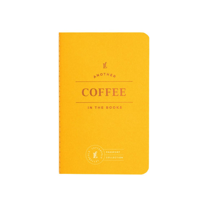 Coffee Passport - Letterfolk