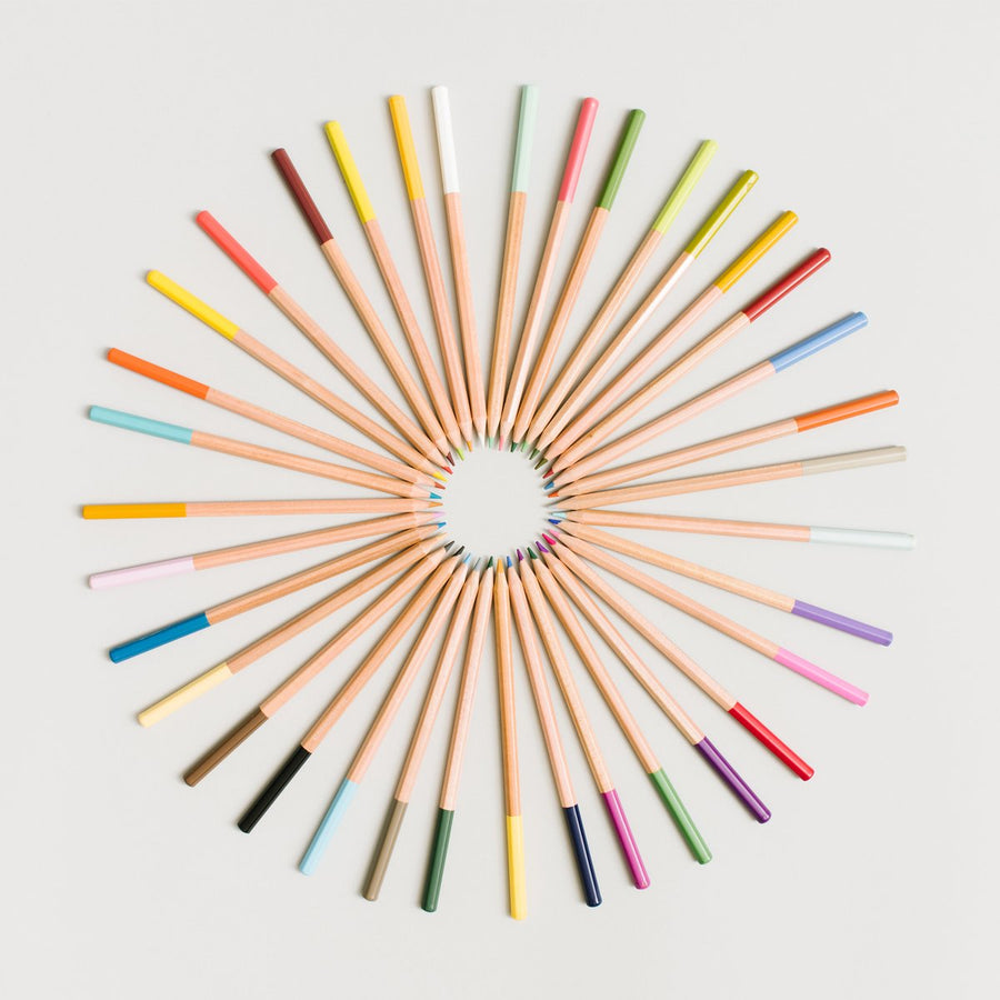 Dipped Colored Pencils - Letterfolk