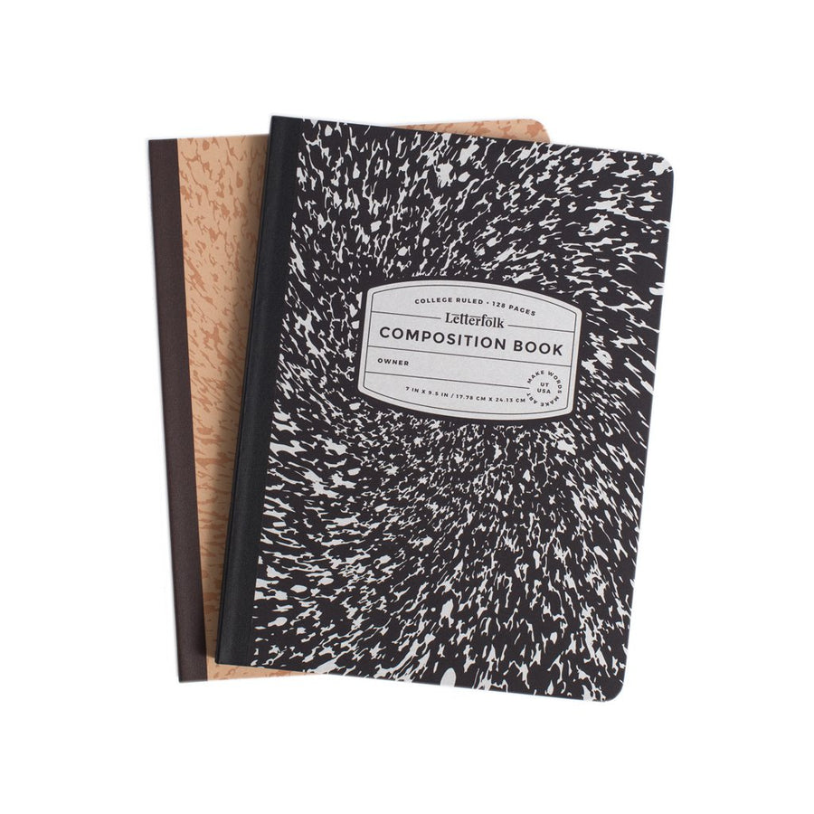 Composition Book - Letterfolk