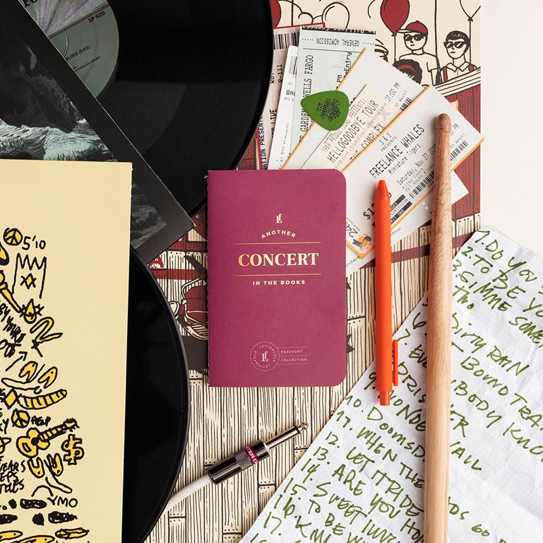 Concert Passport - Letterfolk
