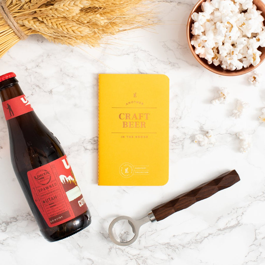 Craft Beer Passport - Letterfolk