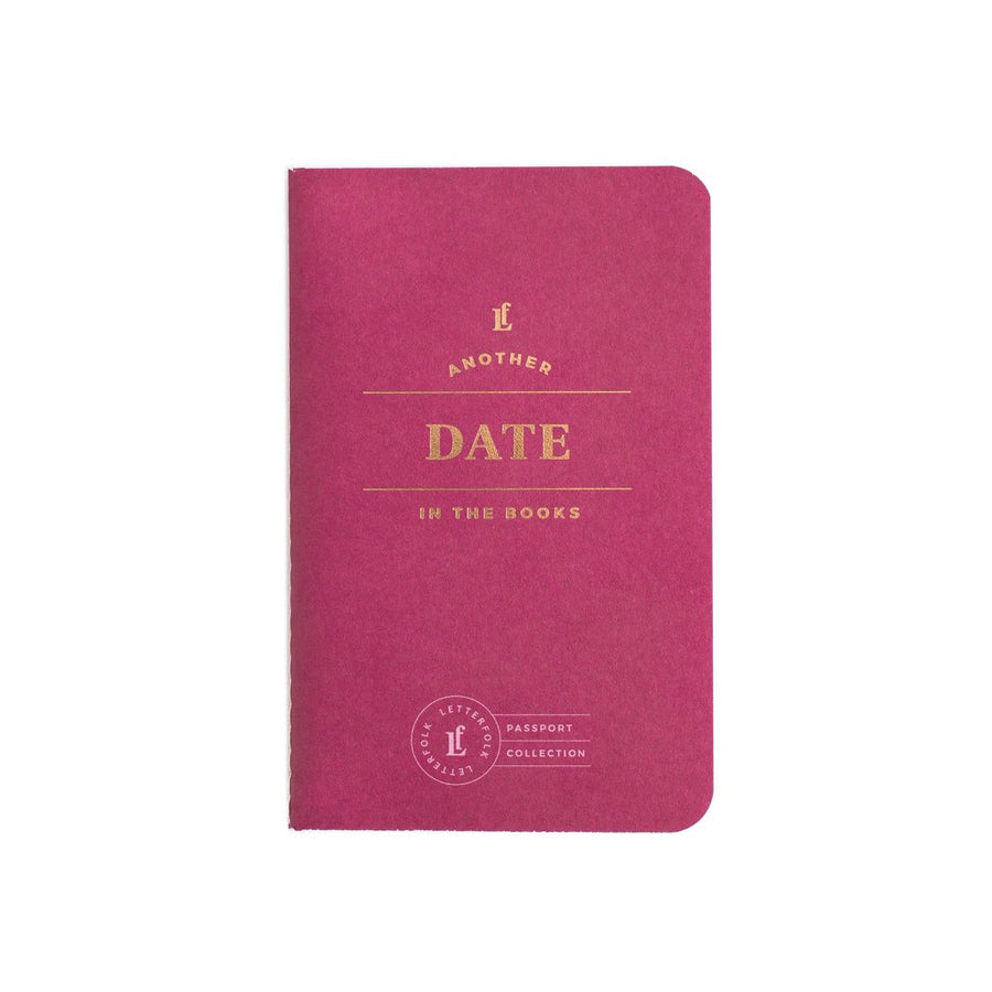 Date Passport - Letterfolk