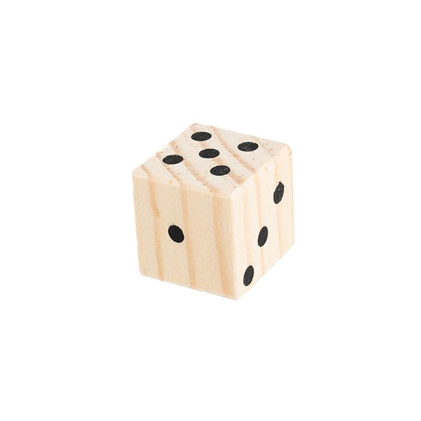 Wooden Die - Letterfolk