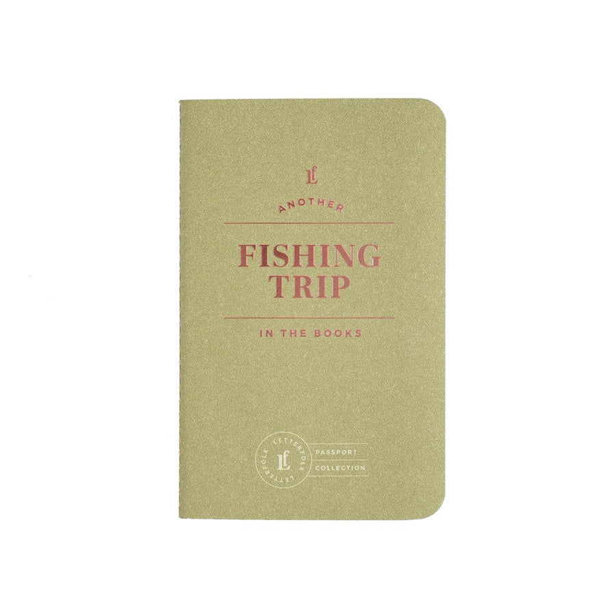 Fishing Trip Passport - Letterfolk