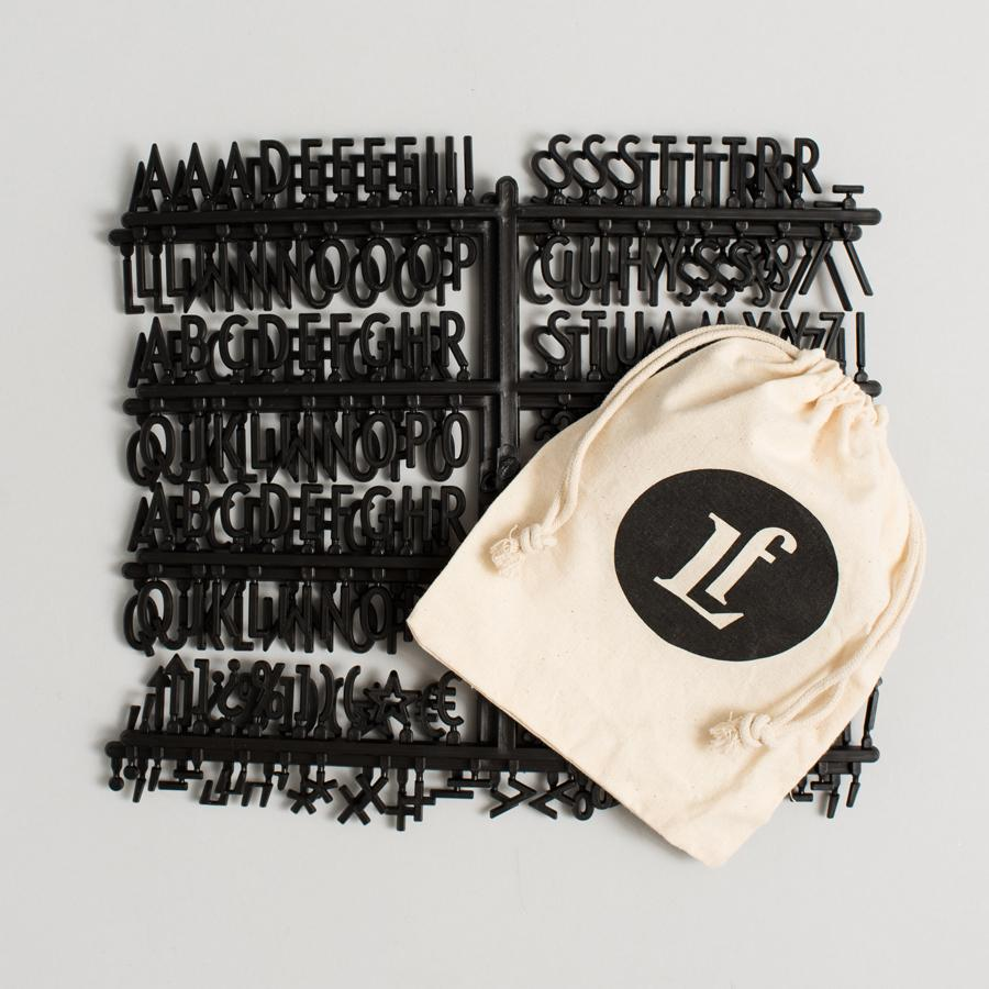 Additional Gatsby Black Letter Set - Letterfolk