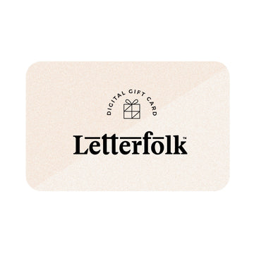 Letterfolk Gift Card (Digital) - Letterfolk