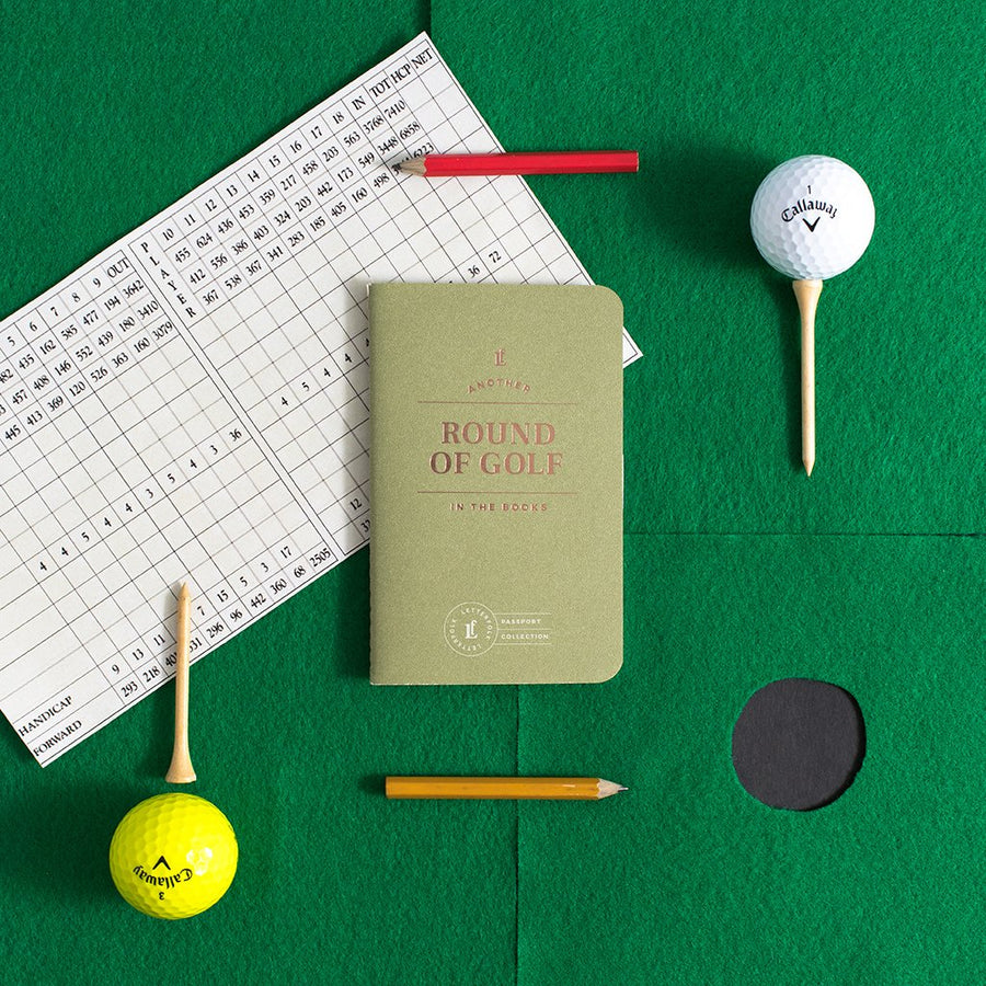 Round of Golf Passport - Letterfolk