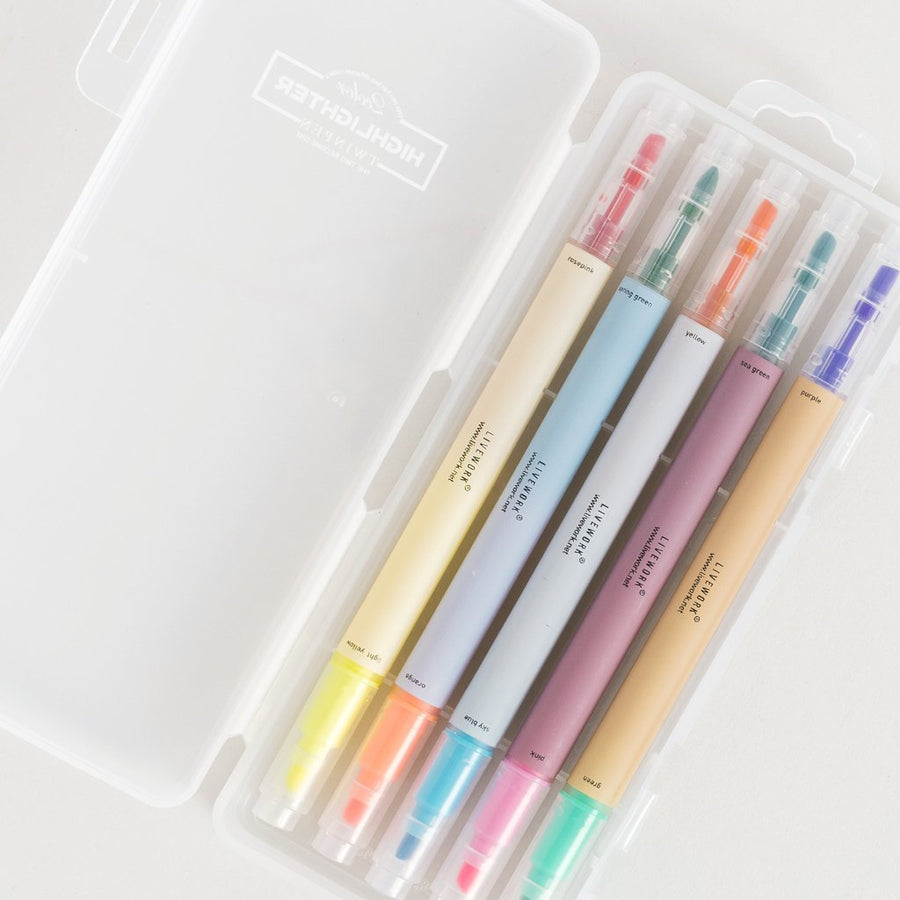 Duo-Color Highlighter Set - Letterfolk