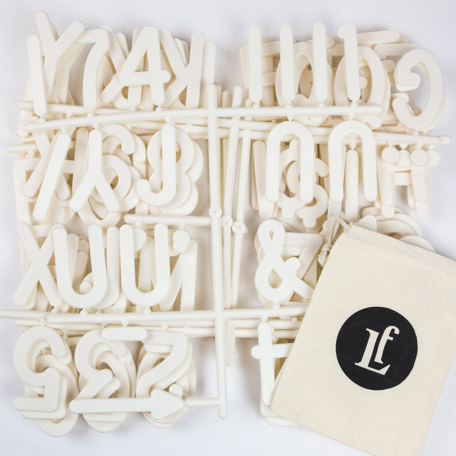 Additional Jumbo Letter Set - Letterfolk