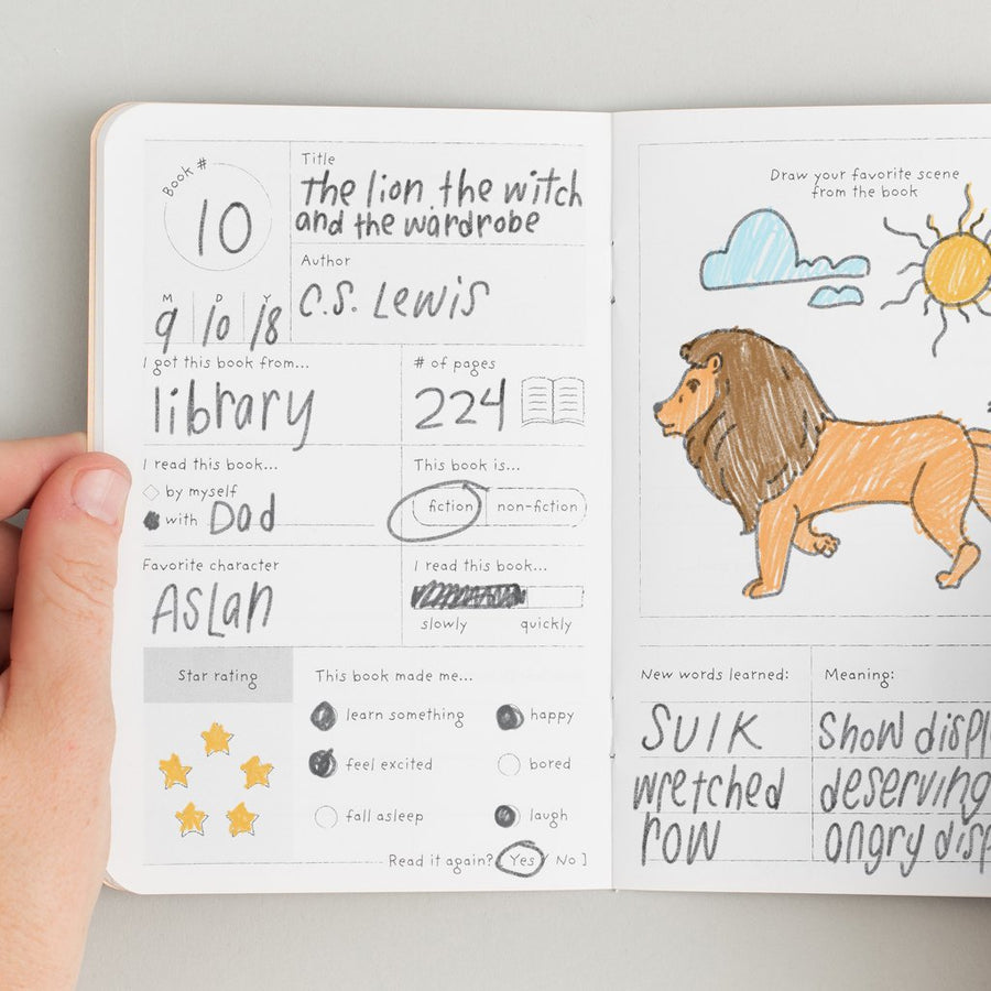 Kids Book Passport - Letterfolk
