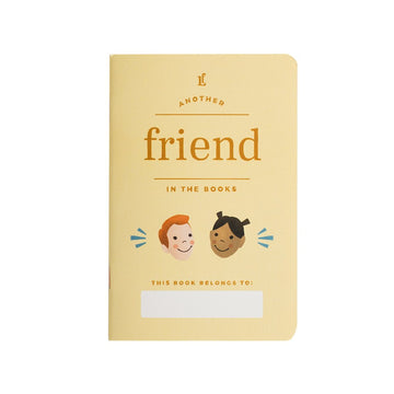 Kids Friend Passport - Letterfolk