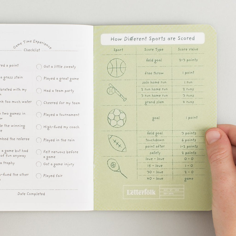 Kids Game Passport - Letterfolk