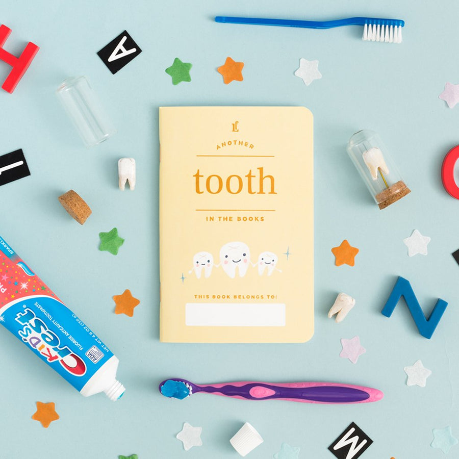 Kids Tooth Passport - Letterfolk