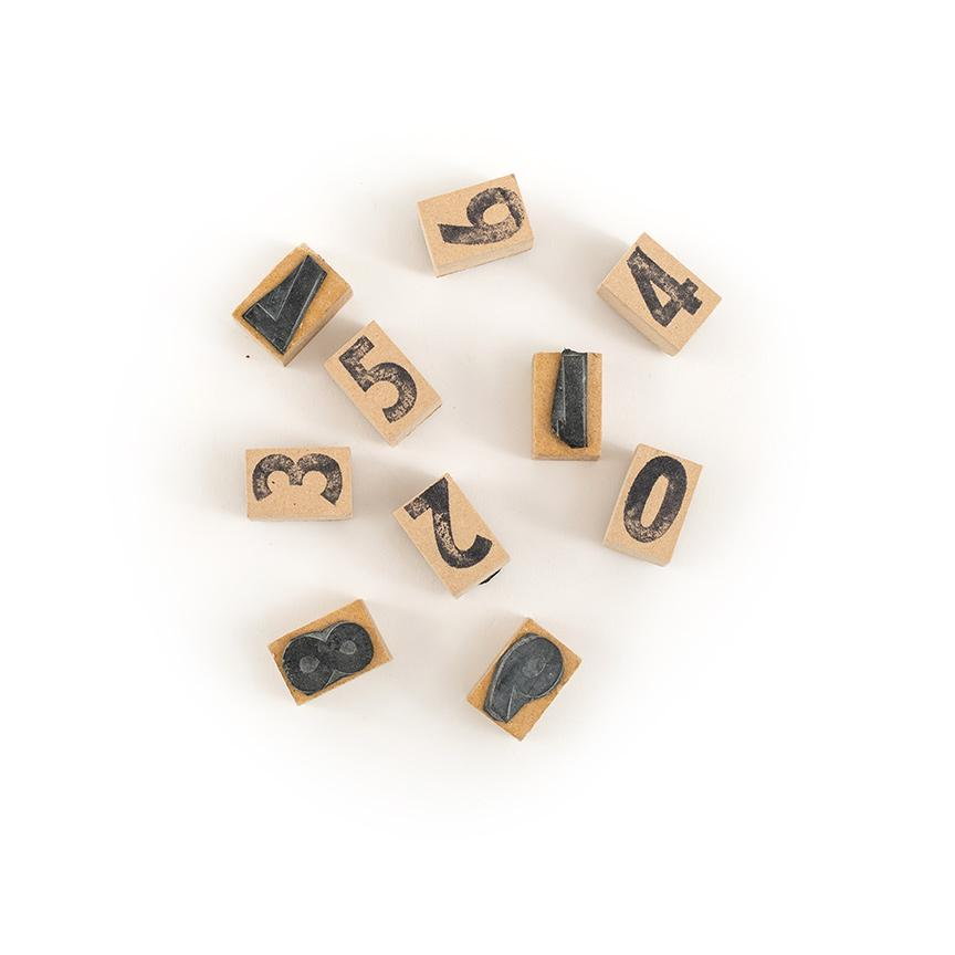 Wooden Alphabet Stamps - Letterfolk