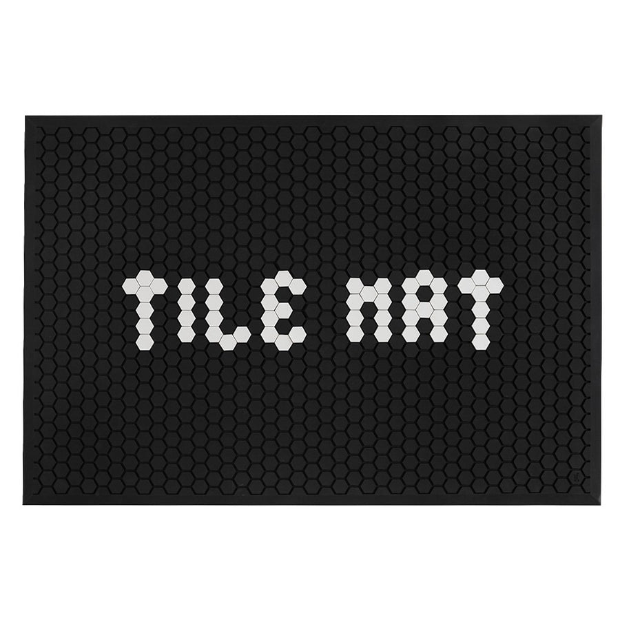 Tile Mat – Black - Letterfolk