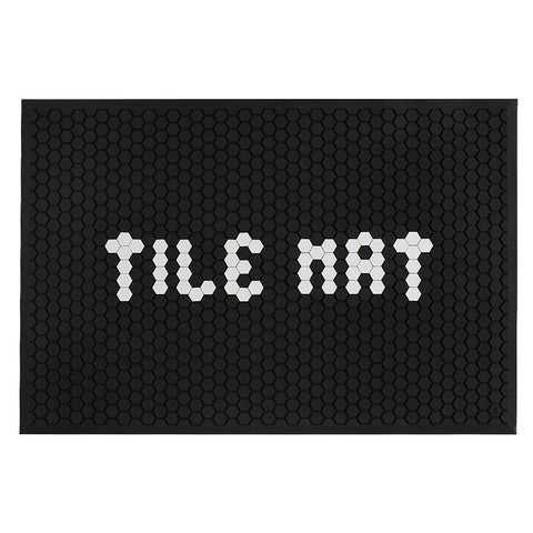 Tile Mat — Black - Letterfolk