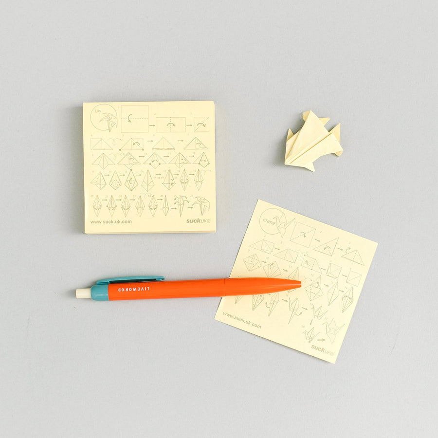 Origami Sticky Notes - Letterfolk