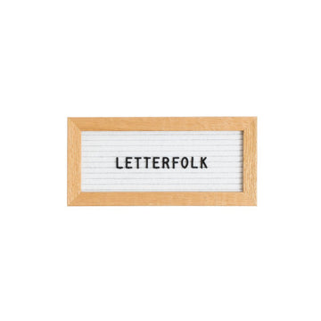 The Mini White (Warehouse Sale) - Letterfolk