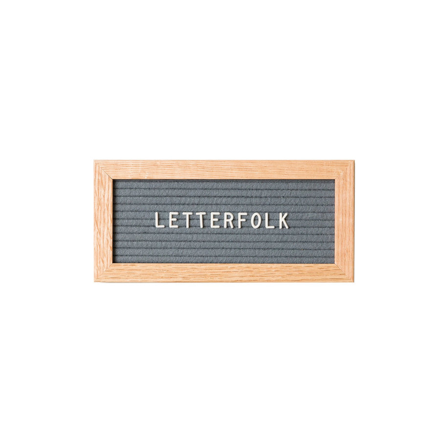 The Mini Grey - Letterfolk