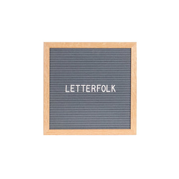 The Poet Grey (Warehouse Sale) - Letterfolk