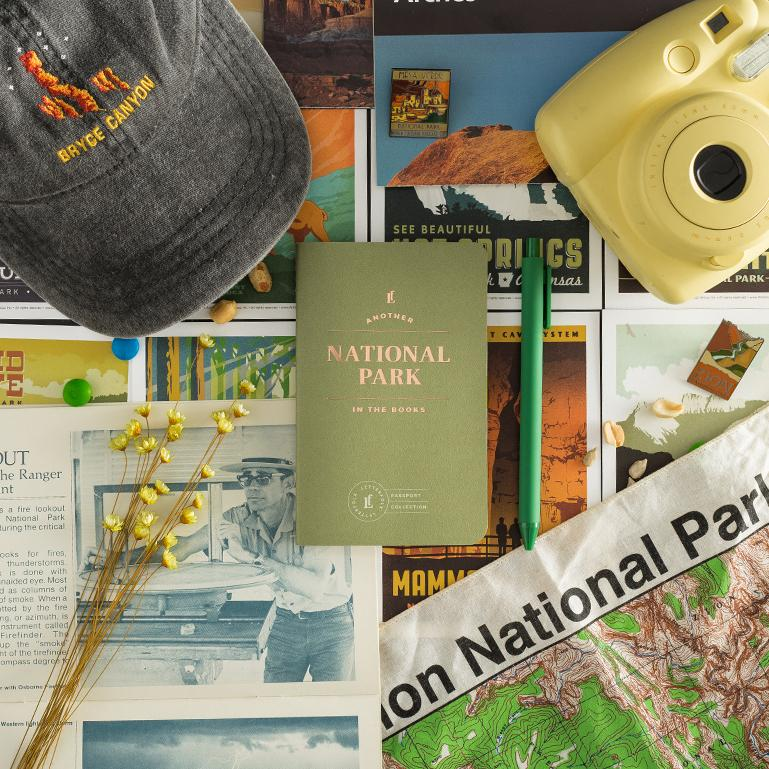 National Park Passport - Letterfolk