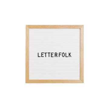 The Poet White (Warehouse Sale) - Letterfolk