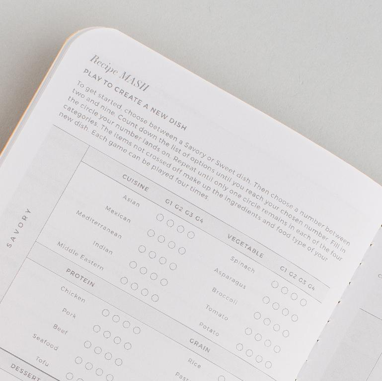 Recipe Passport - Letterfolk