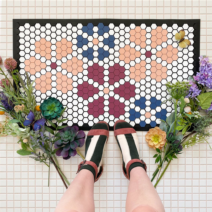 Floral Tile Sets - Letterfolk