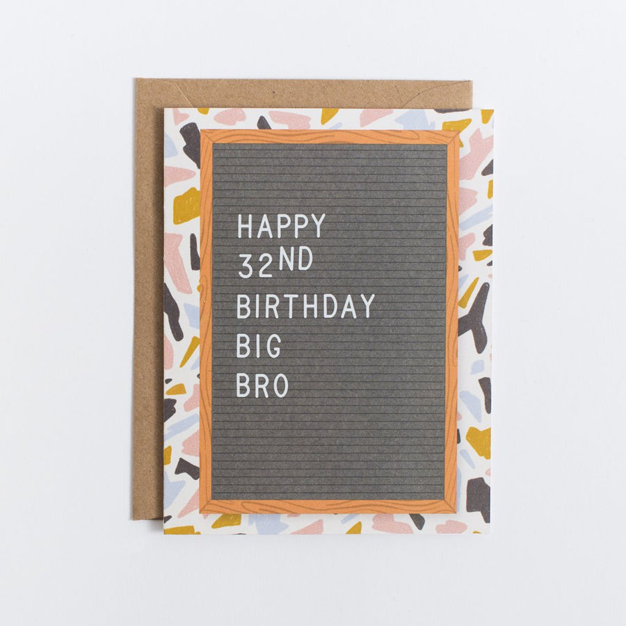 "Scratch On â""¢ Letter Board Greeting Card (Set 2) - Letterfolk"